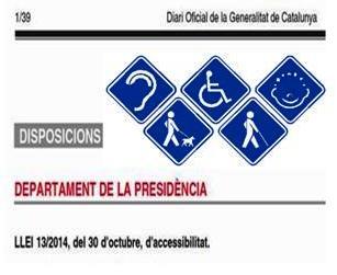 Llei Accessibilitat Catalunya